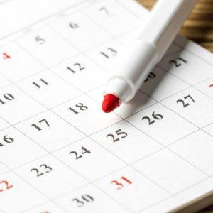 Calendario Admisión