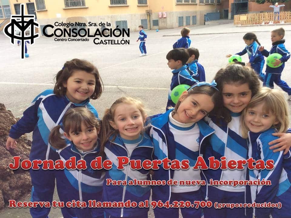 Jornada de puertas abiertas en Ed. Infantil y Primaria.