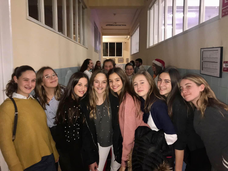 Cena de Navidad de los grupos del COM