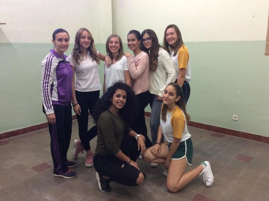 """4º de ESO en el taller de artes escénicas y danza """"El Orfeo"""""""