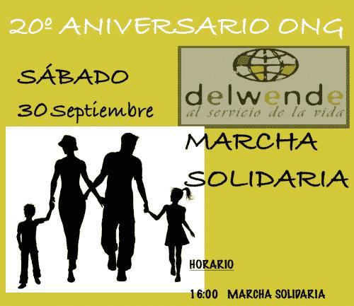 Marcha Solidaria 20 Años Delwende
