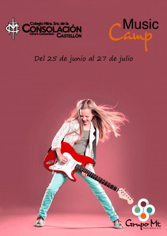 MusicCamp en Consolación Castellón
